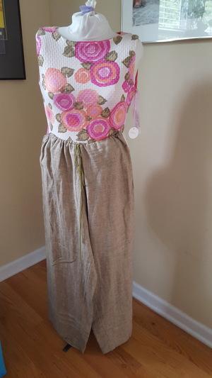 Sew An Easy Pair Of Wide Leg Linen Pants And An A Line Skirt