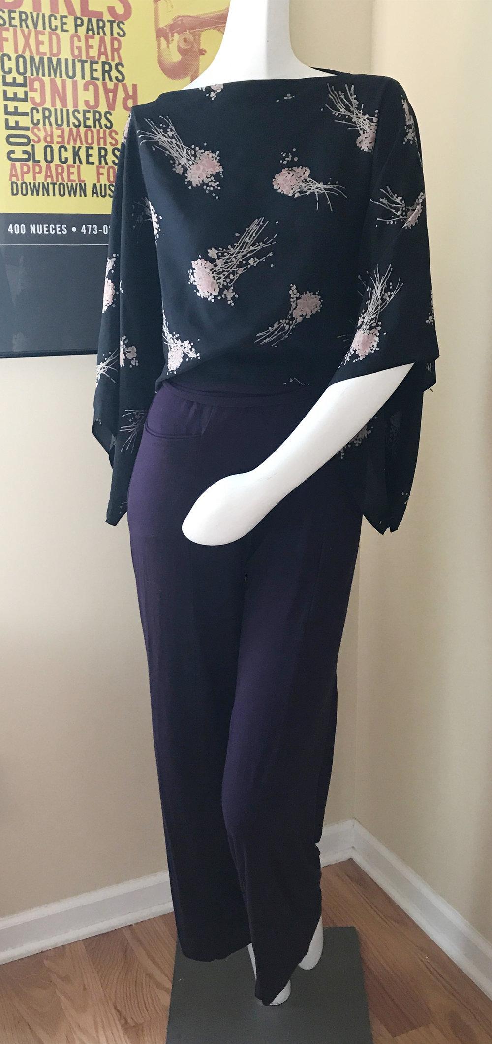 Kimono Poncho Top Free Sewing Pattern