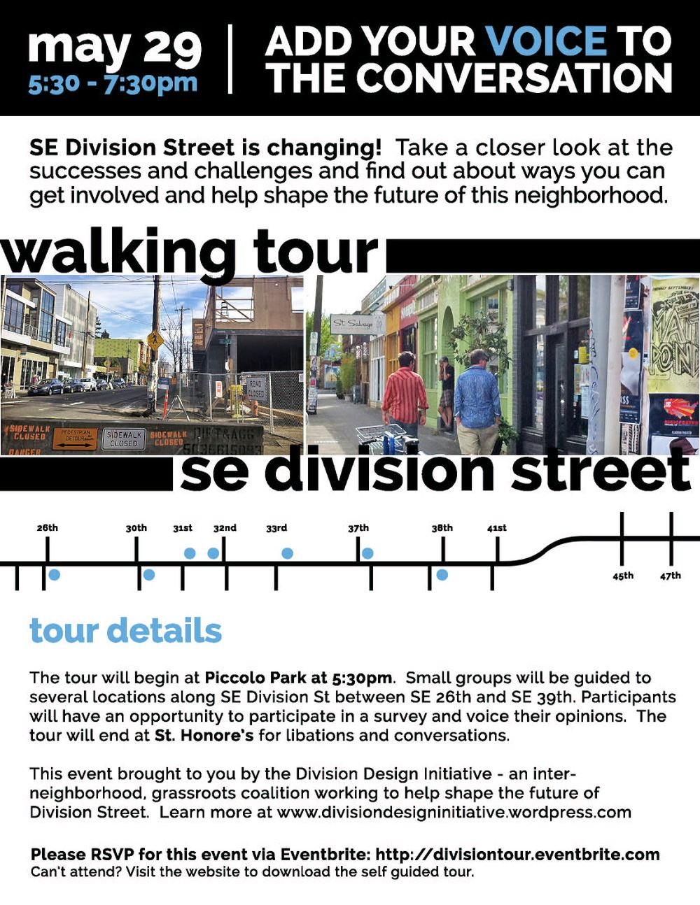DDI Walking Tour Flyer