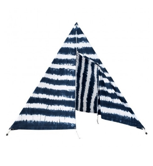 Beach tipi, $285,  gingerandgilligan.com