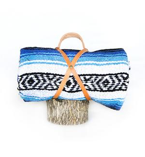Ocean blanket roll, $56, nipomo.com