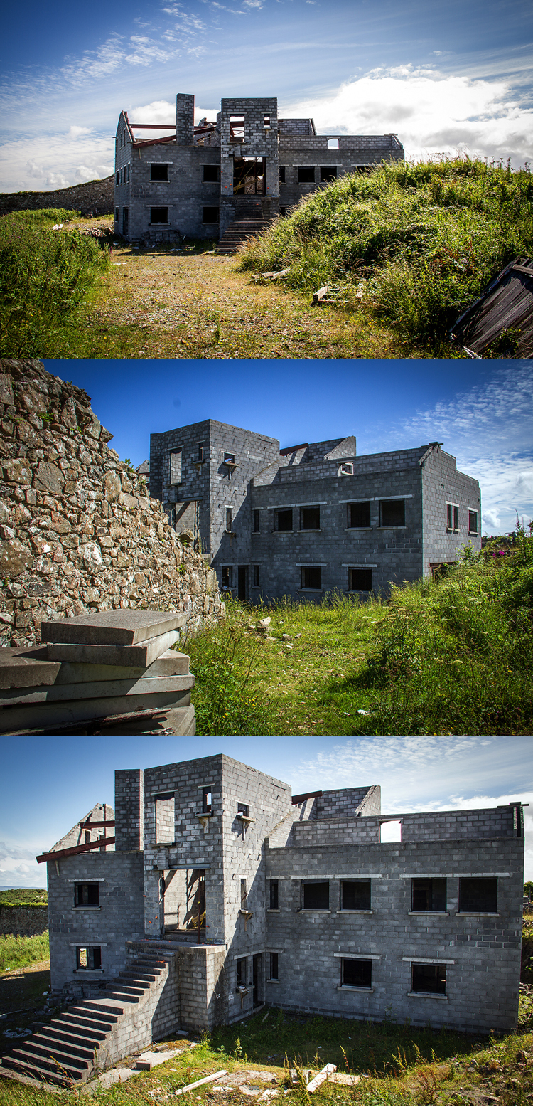 Abondoned building in Connemara