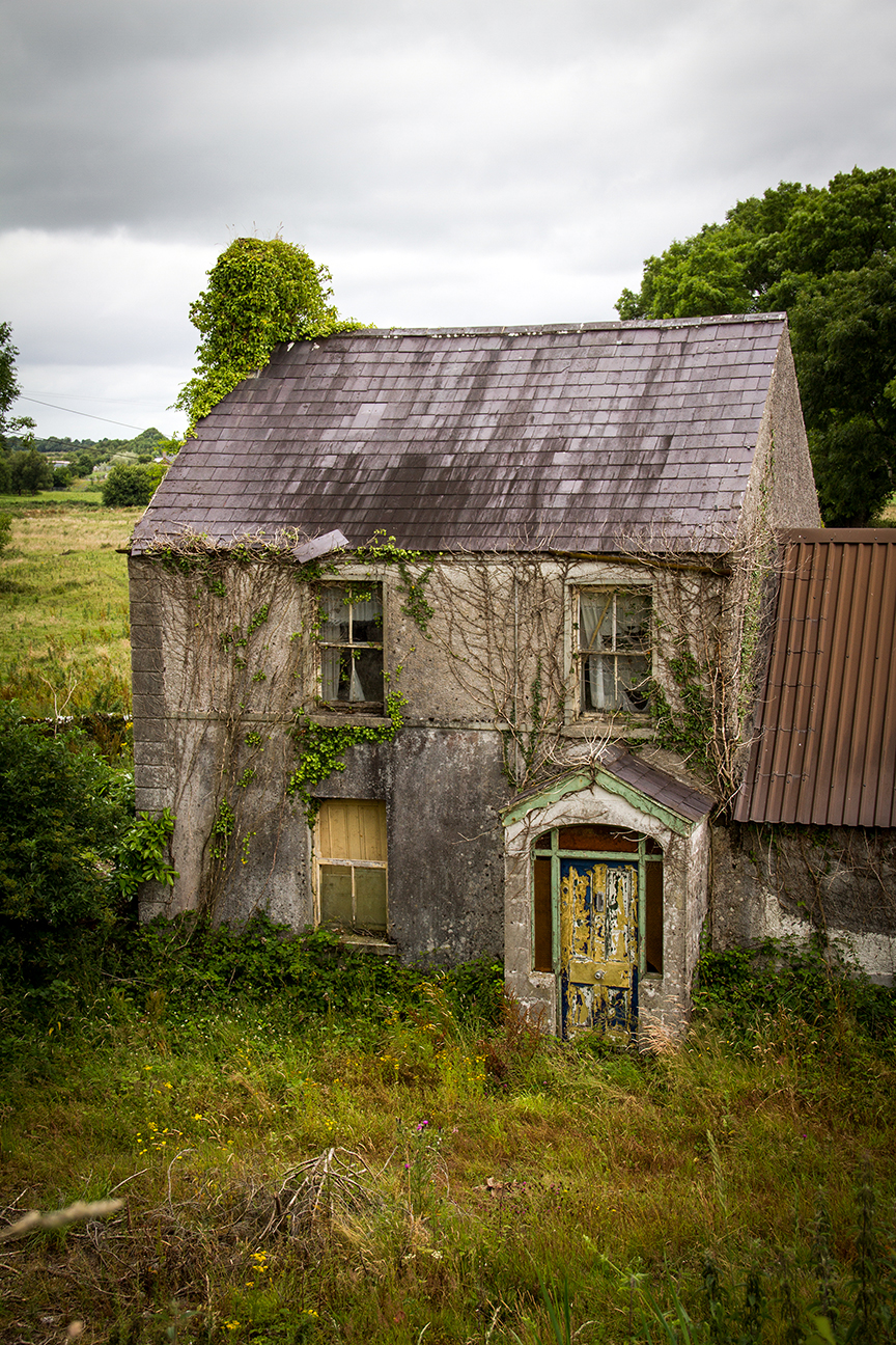 Old farmhouse near Athlone