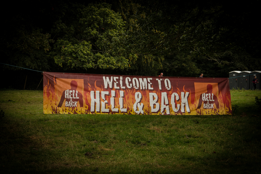 Hell and back sign