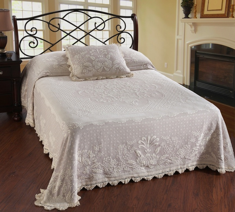 Abigail Adams Bedspread (Click Image to Enlarge)