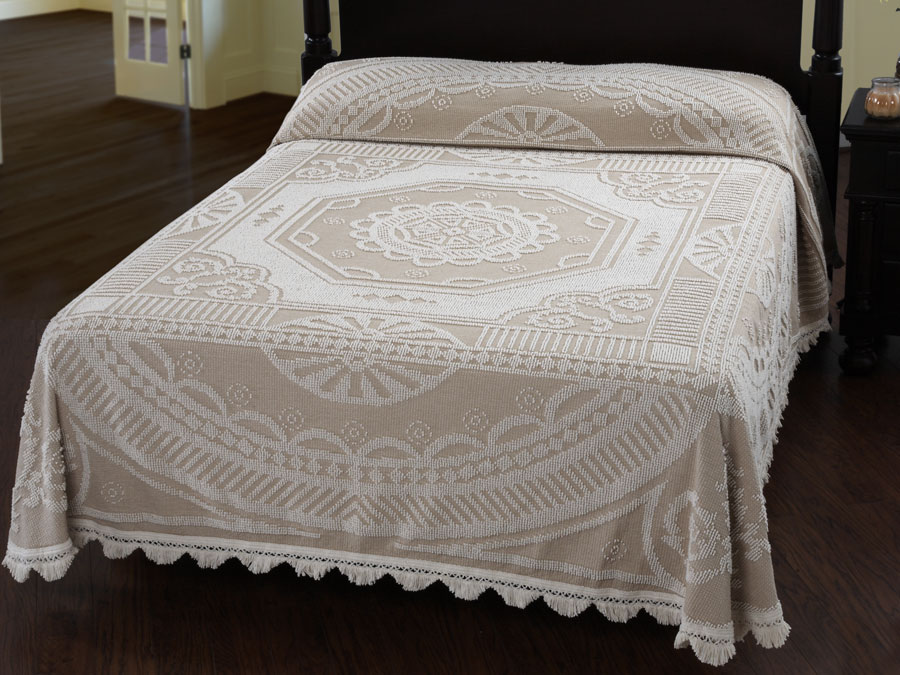 John Adams Bedspread (Click Image to Enlarge)