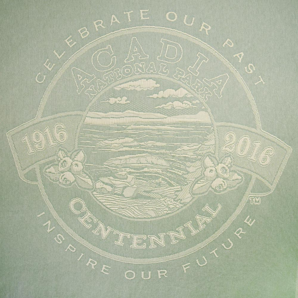 Acadia National Park Centennial Throw Design (  Click Image to Enlarge)