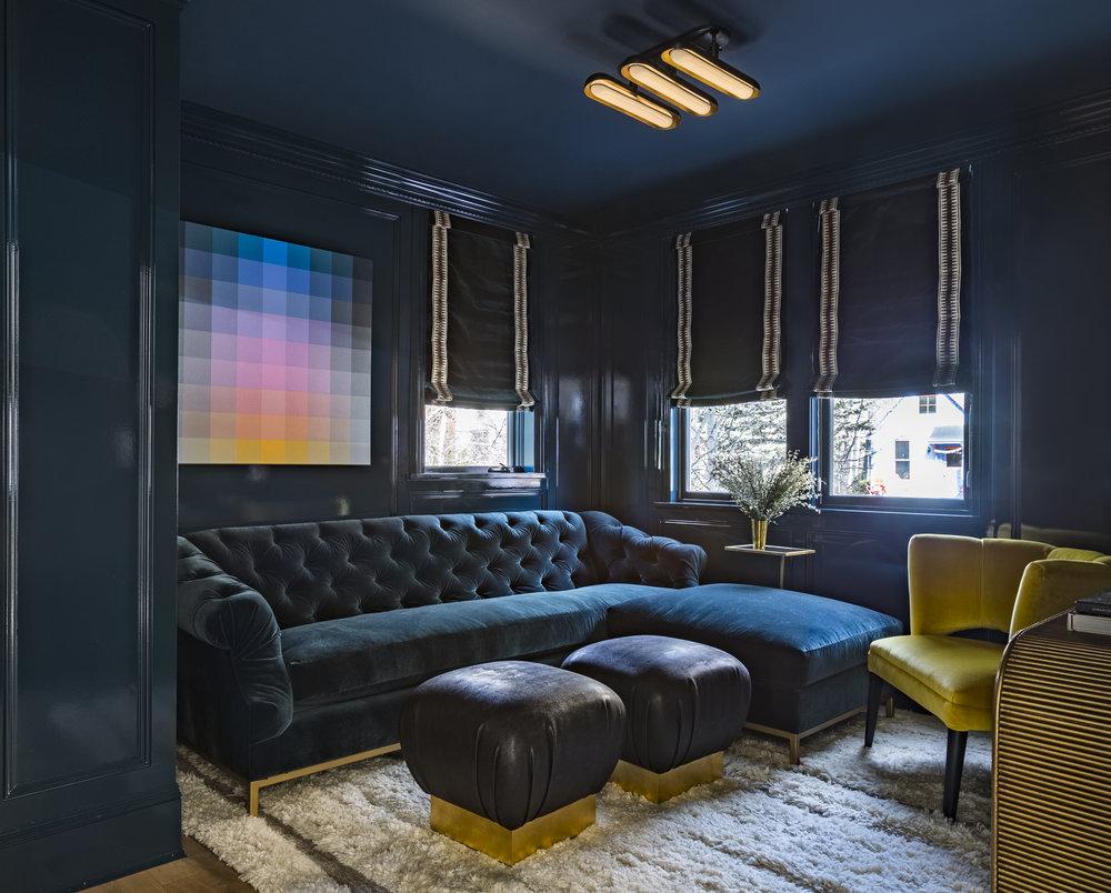Media Room - Robert Swain Acrylic on Canvas and Apparatus Lighting @ London Calling 2018