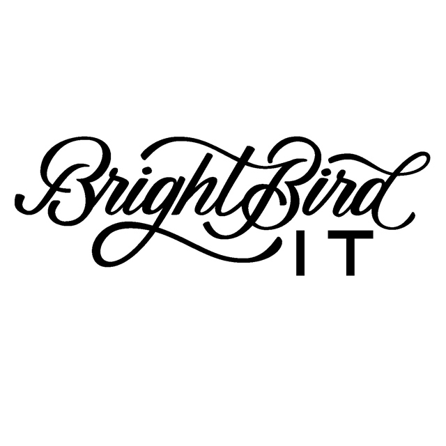 logo for BrightBird IT.