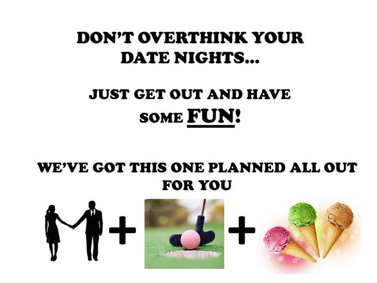 Mini Golf Date Night — Marriage & Relationship Education Center