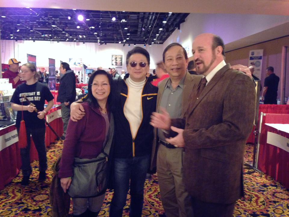 From left to right: Patricia, Sifu, Kenny, Alan