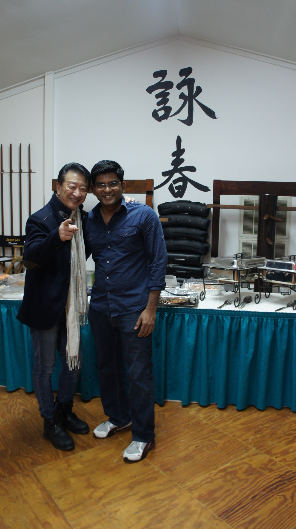 Christopher with Sifu