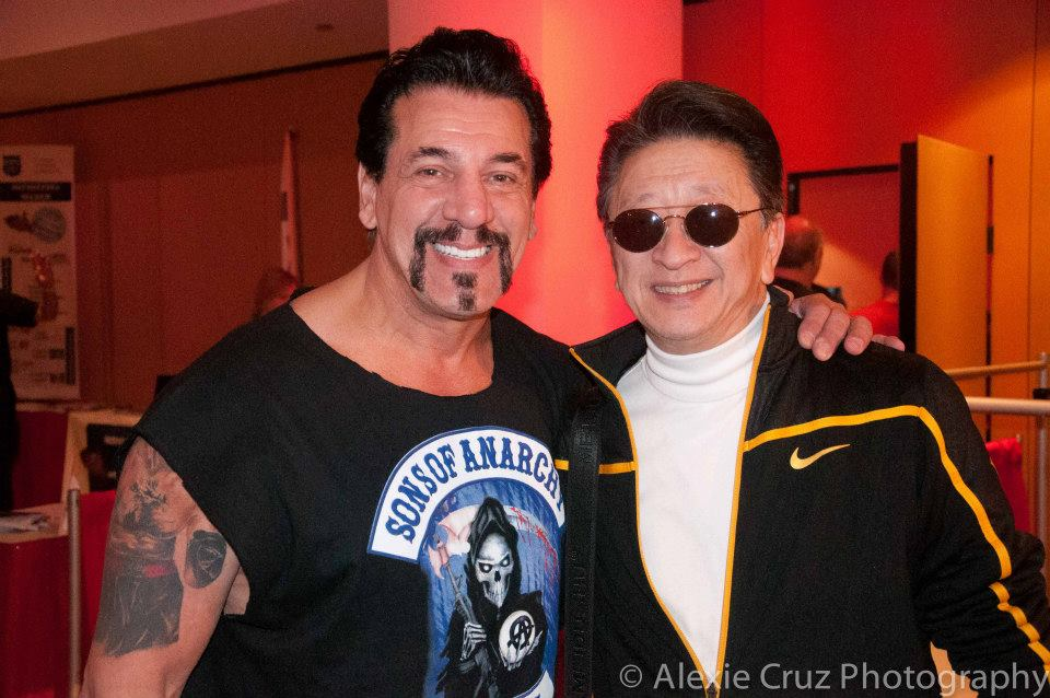 Chuck Zito and Sifu