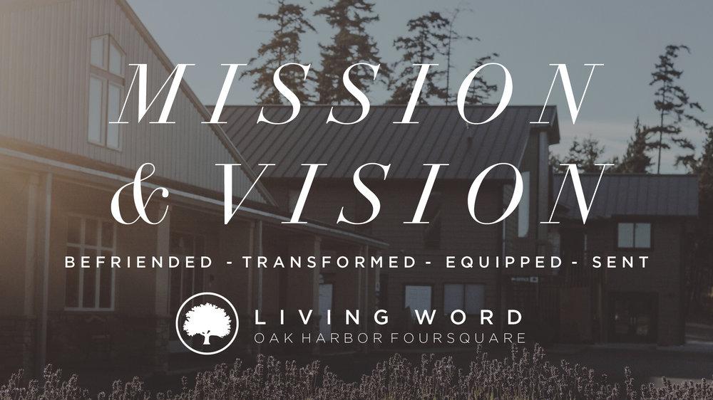 Mission & Vision // September 3 - 17 2017