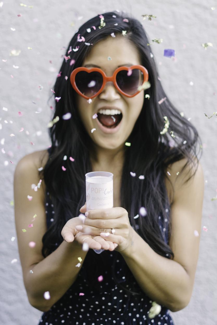 Celebrated  Confetti & Co's  10,000 Instagram followers.