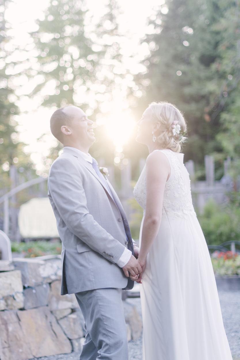 Shot a wedding in Tofino.