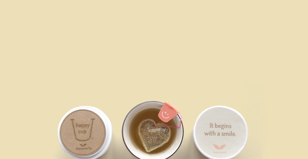 Happy Cup    Sustainable Tea Packaging   View