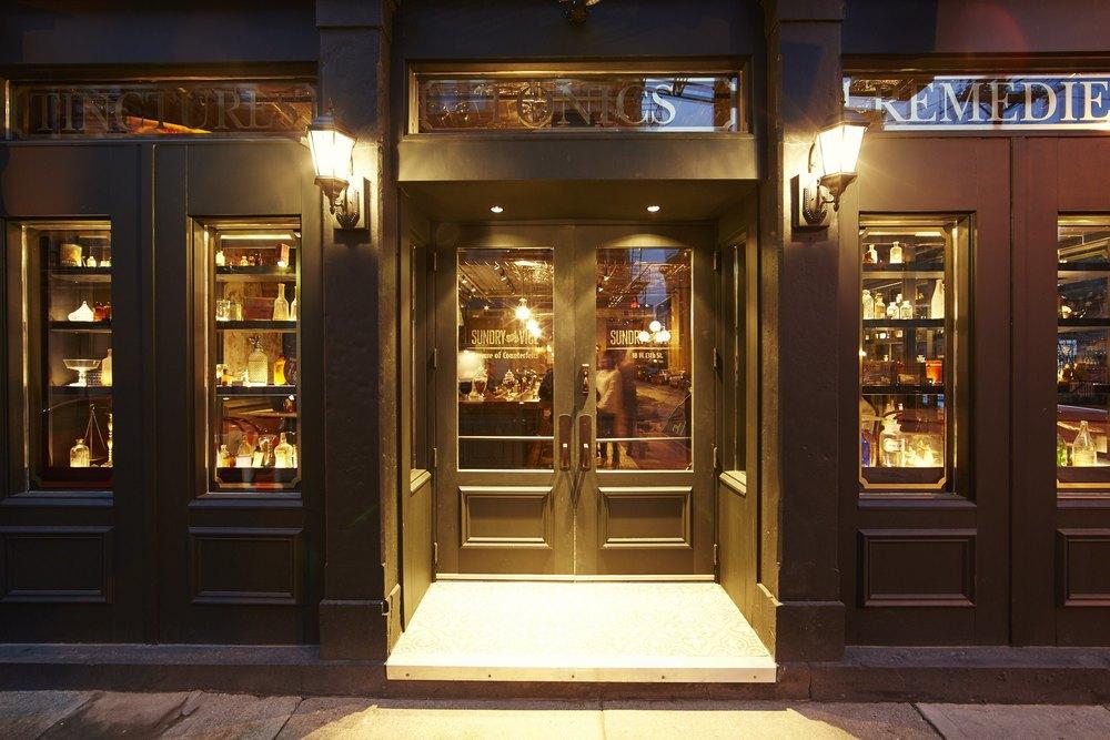 Cocktail Bar OverTheRhine Cincinnati OH PRN Interior Design