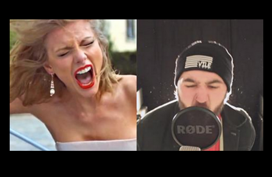 Np Taylor Swift S Blank Space Gets A Post Hardcore Makeover Twist On Pr
