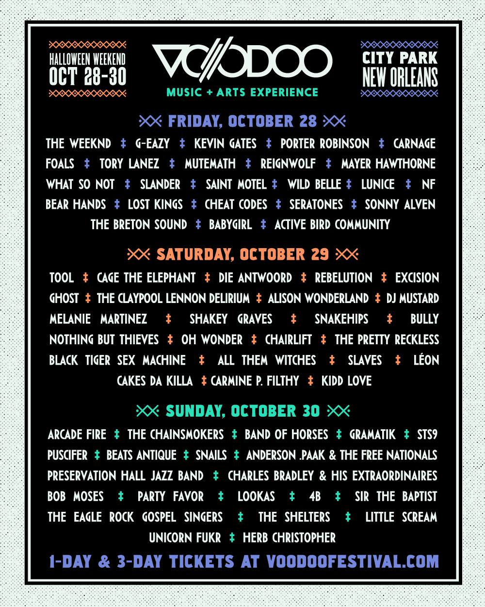 halloween 2016 your music festival guide twist on pr