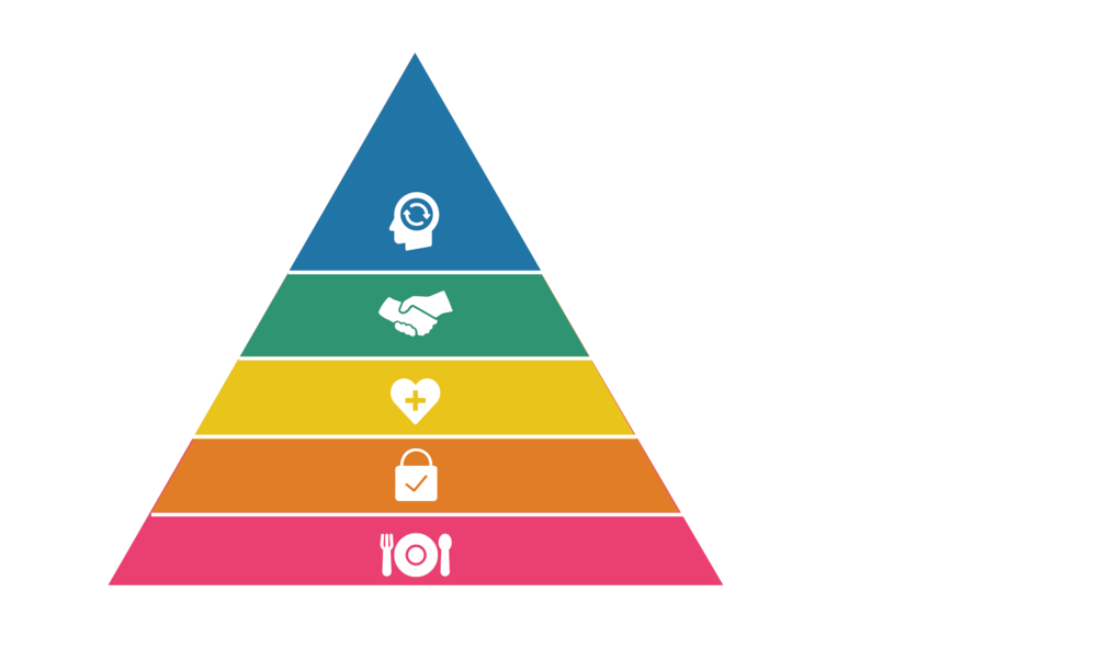 COIR Development Theory: The process of meeting a community's needs through real estate development and collective action. COIR engages Maslow's hierarchy of needs.