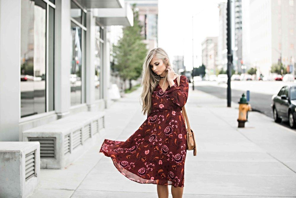 floral dress-jessakae