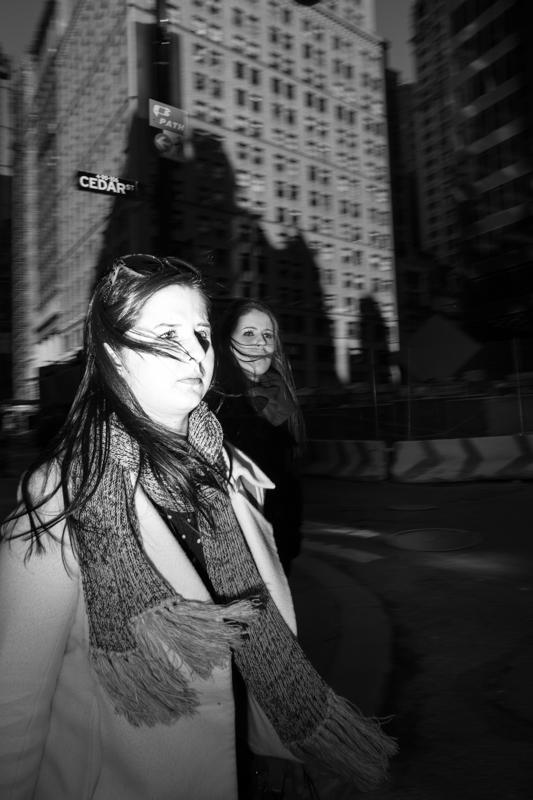 Gioia Zloczower concrete jungle blondebundle NYC street