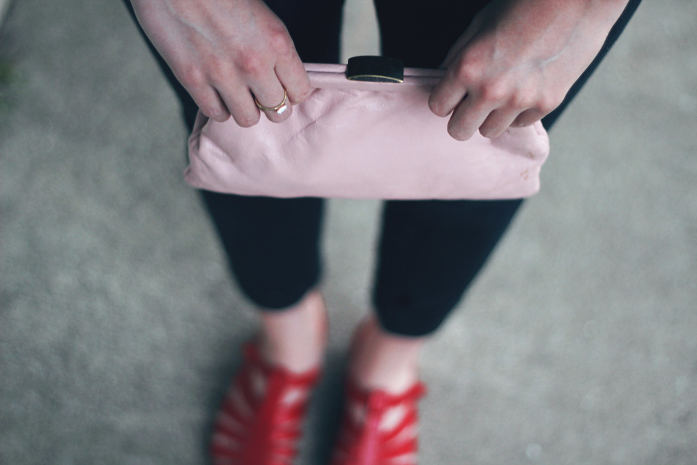 Clutch | Shoes | Ring | Photo by Madison Wathen
