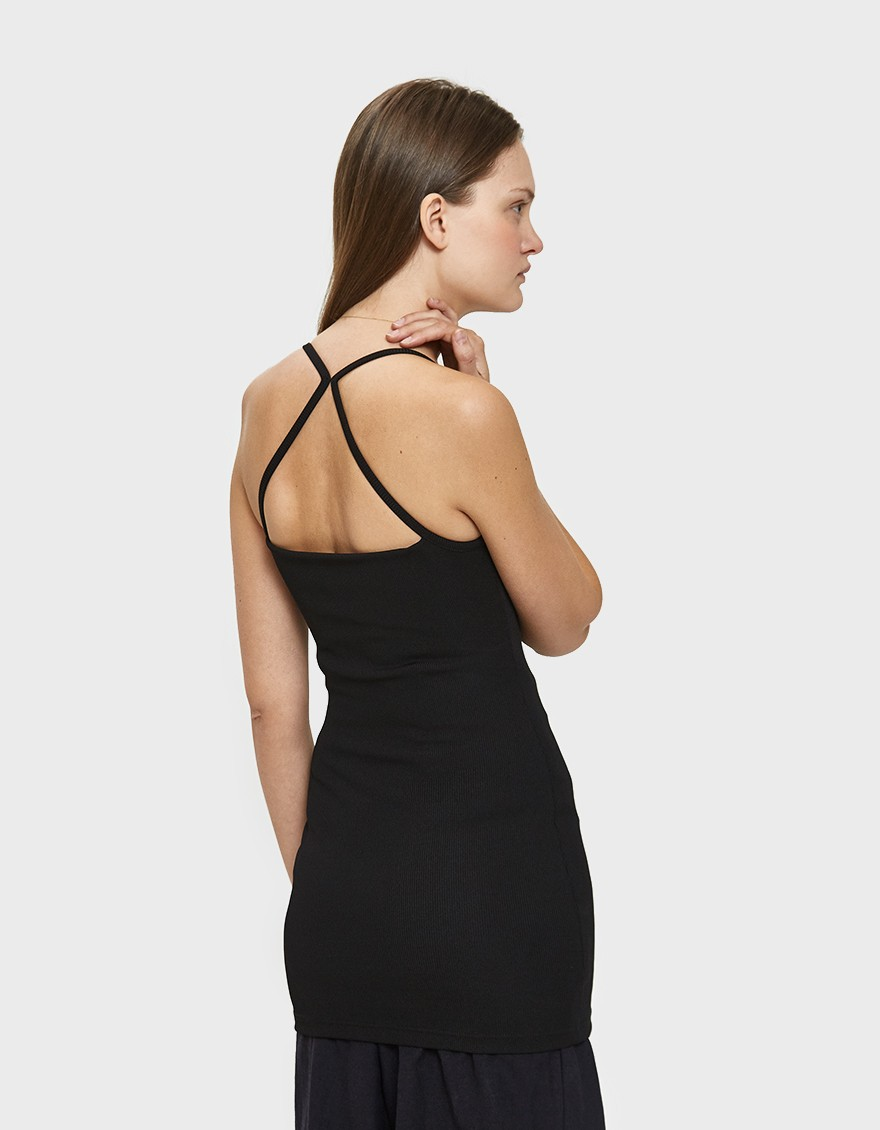 Christopher Esber Axis Singlet in Black ($119)