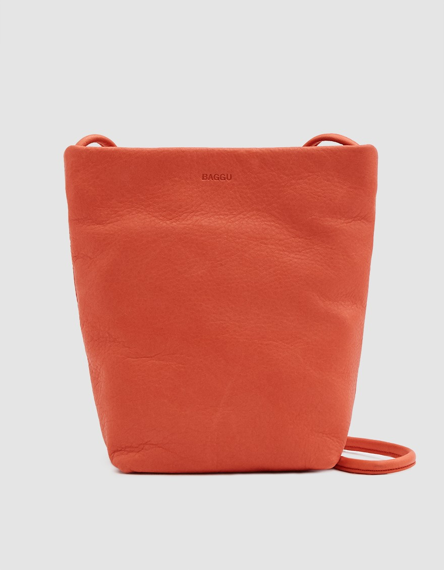 Baggu Crossbody Purse in Warm Red ($70)