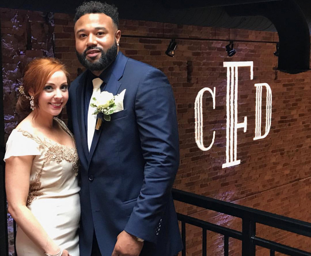 Dana and Chris Fountain hosted their wedding at Row 24.