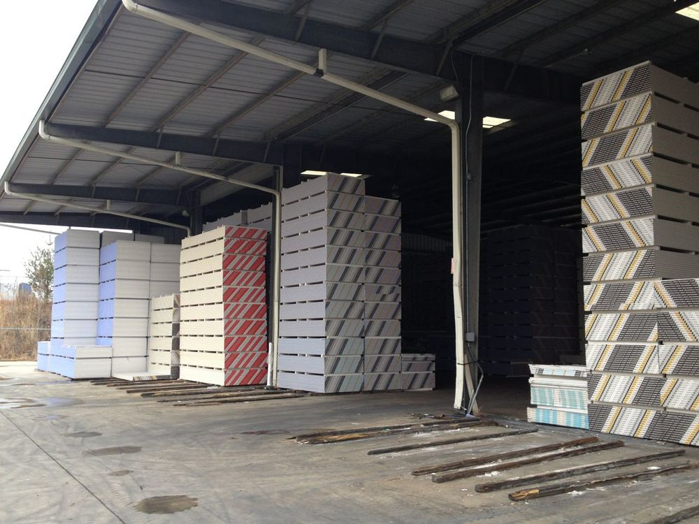 General construction materials.