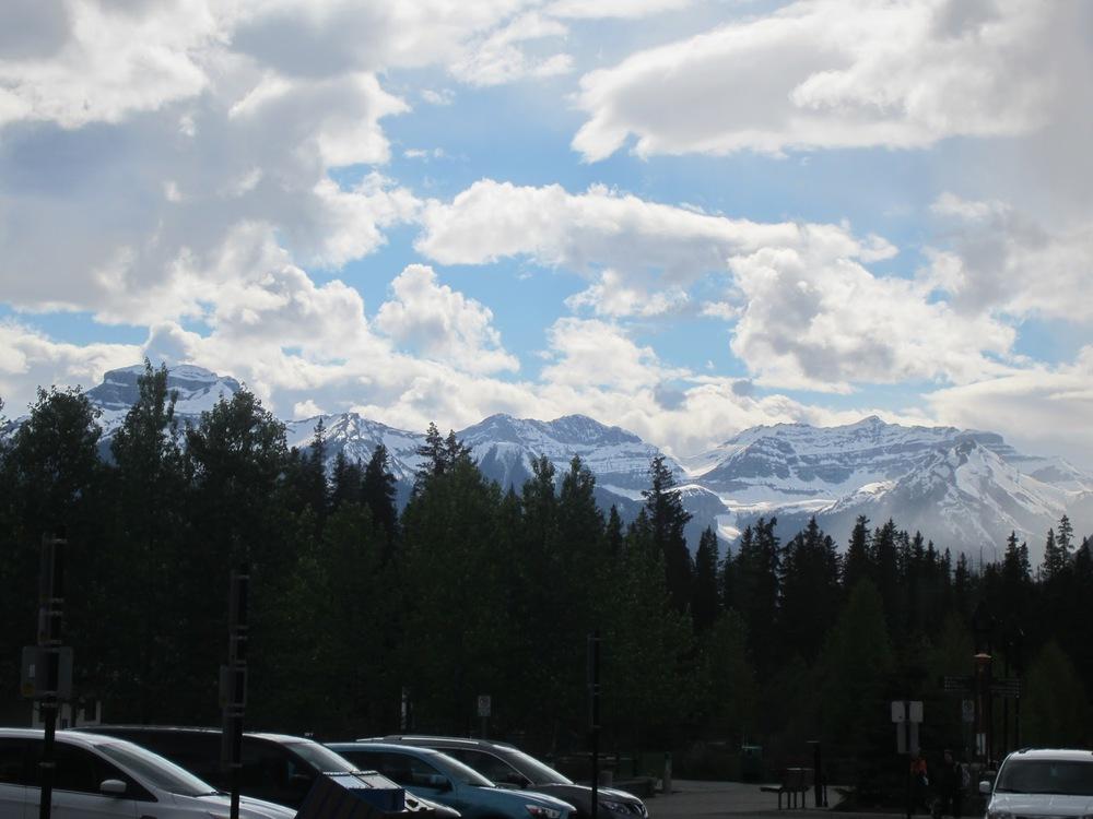 In Banff.