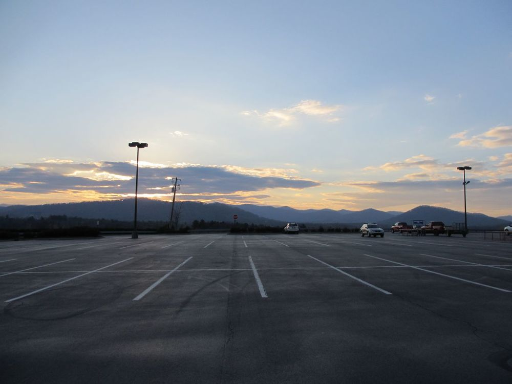 We are pretty convinced we have the Lowes with the best scenery in the southeast!