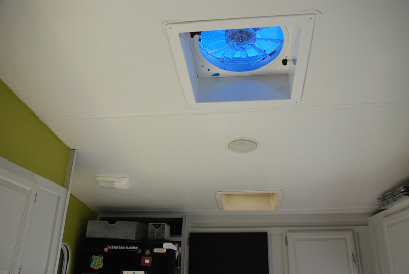 Welcome take a tour of our home updated live small ride free the rv also has three ceiling fans and two ceiling vents the blue fan in the picture above is a fantastic fan this fan is variable speed reversible aloadofball Images
