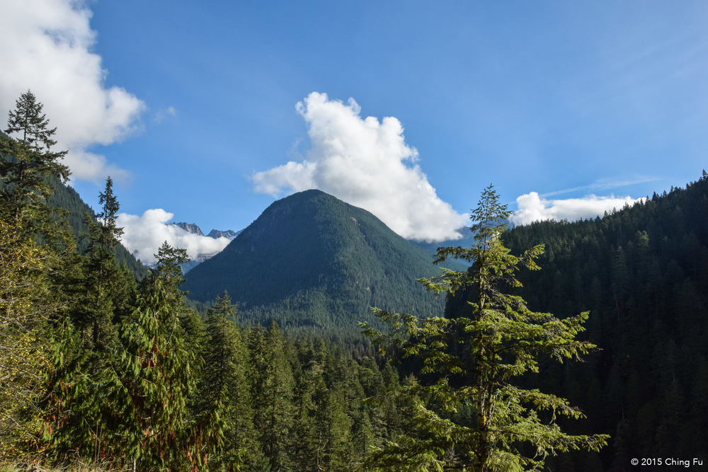 Looking into North Cascades National Park from Mt. Baker-Snoqualmie Nation Forest, where we boondocked.