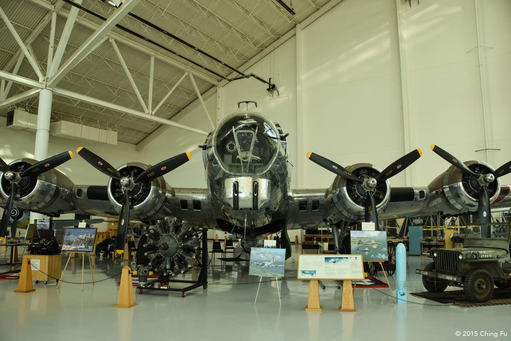 A B-24 bomber plane.
