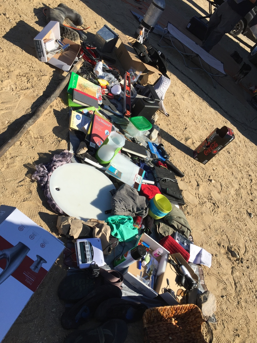 Freecycle pile at Borrego Springs. Photo by   Watsons Wander  .