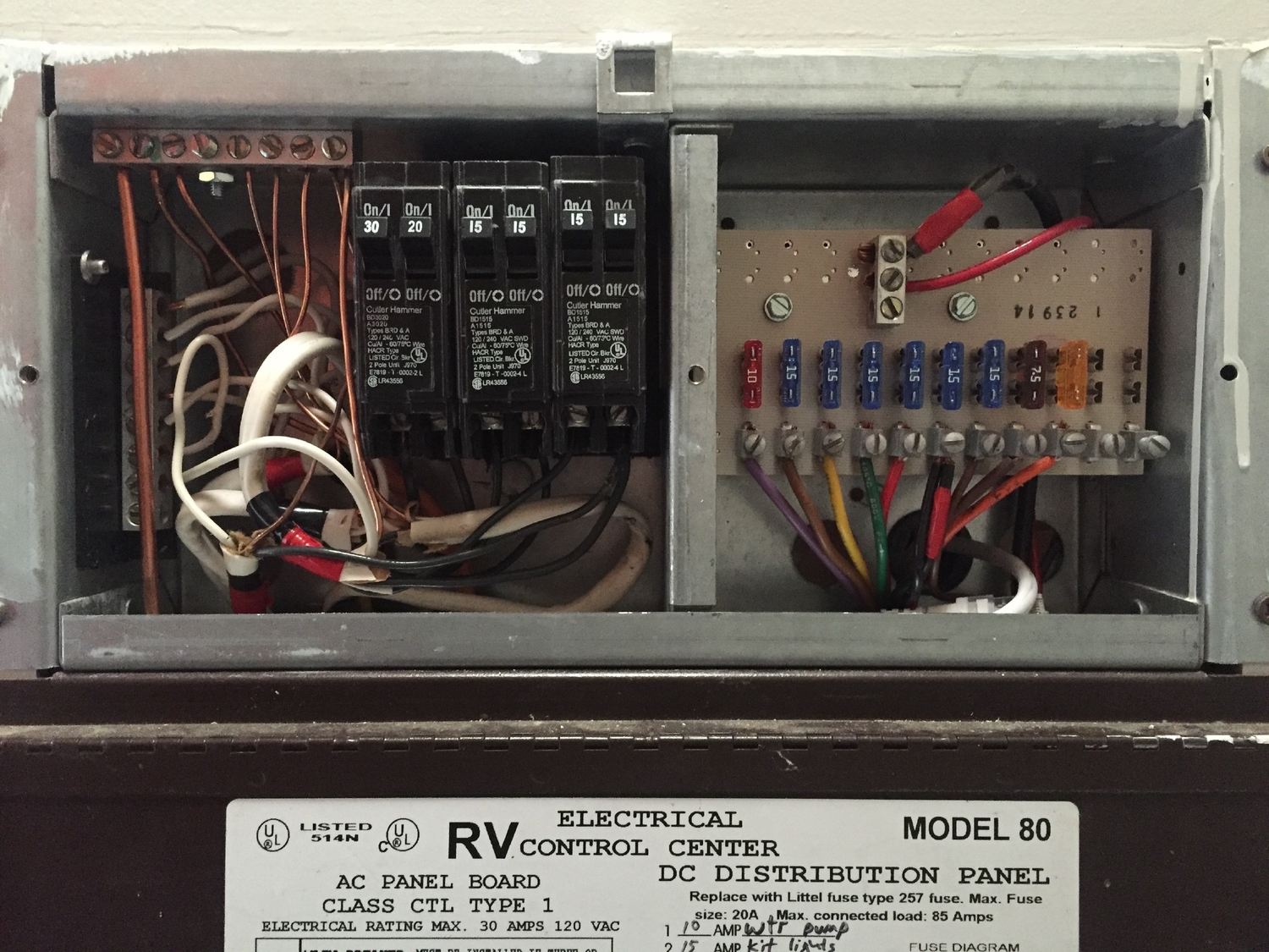 Electrical System Design Part 2 Loads Live Small Ride Free Old Style Air Conditioner Fuse Box Sustainable Solar Powered Rv