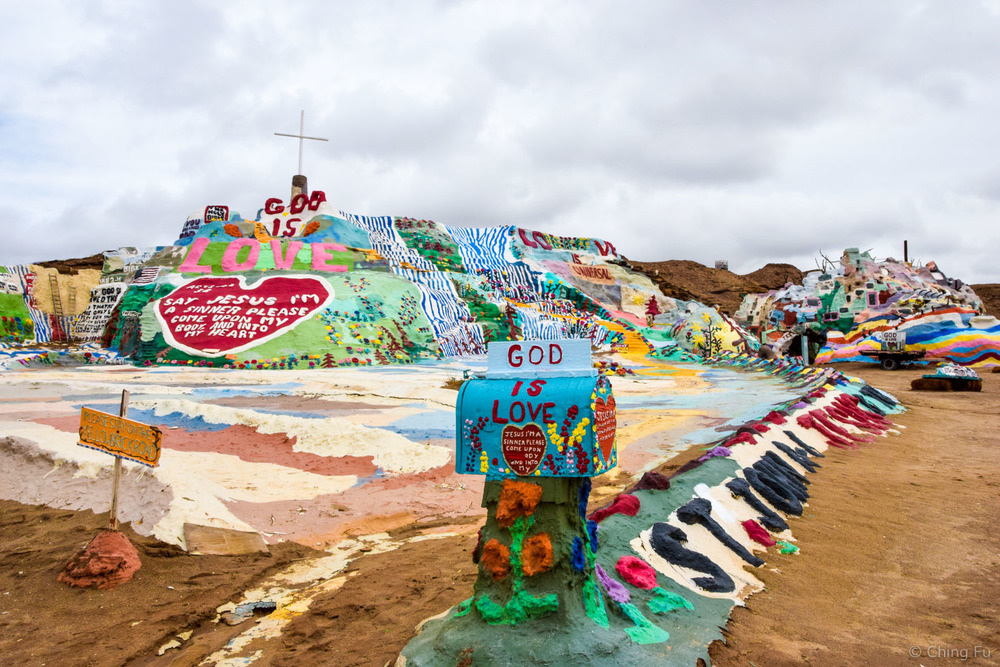 Salvation Mountain at Slab City