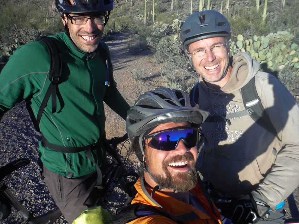 JF, Jerud and Karl on a ride.