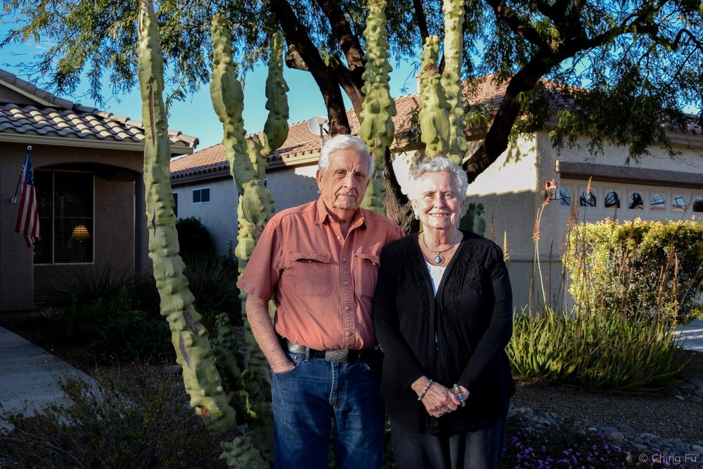 Jerud's grandparents' Don and Helen.