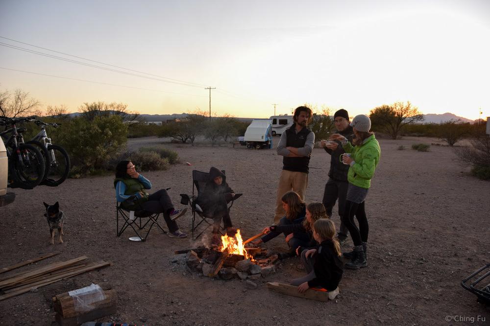 Gotta love campfires.