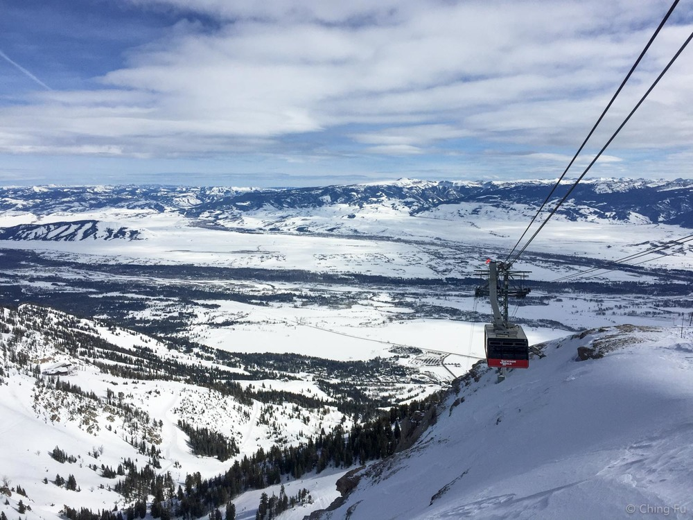 Jackson Hole Ski Resort tram.