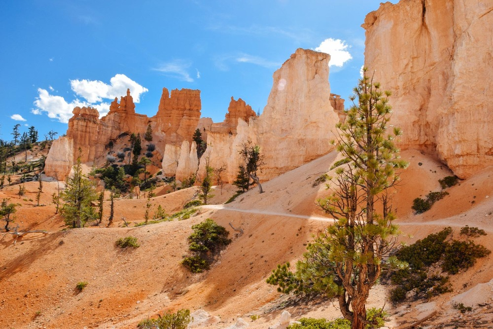 Fairyland Loop Trail at Bryce Canyon National Park.