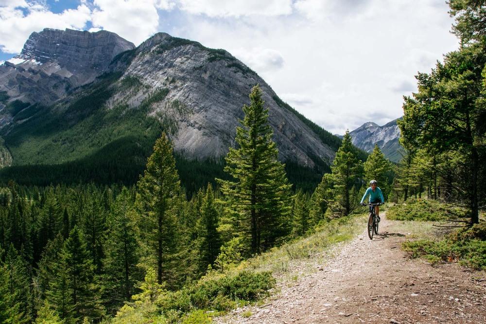 Hoodoo trail in Banff.