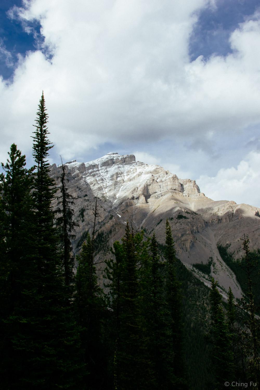 View of Cascade Mountain.