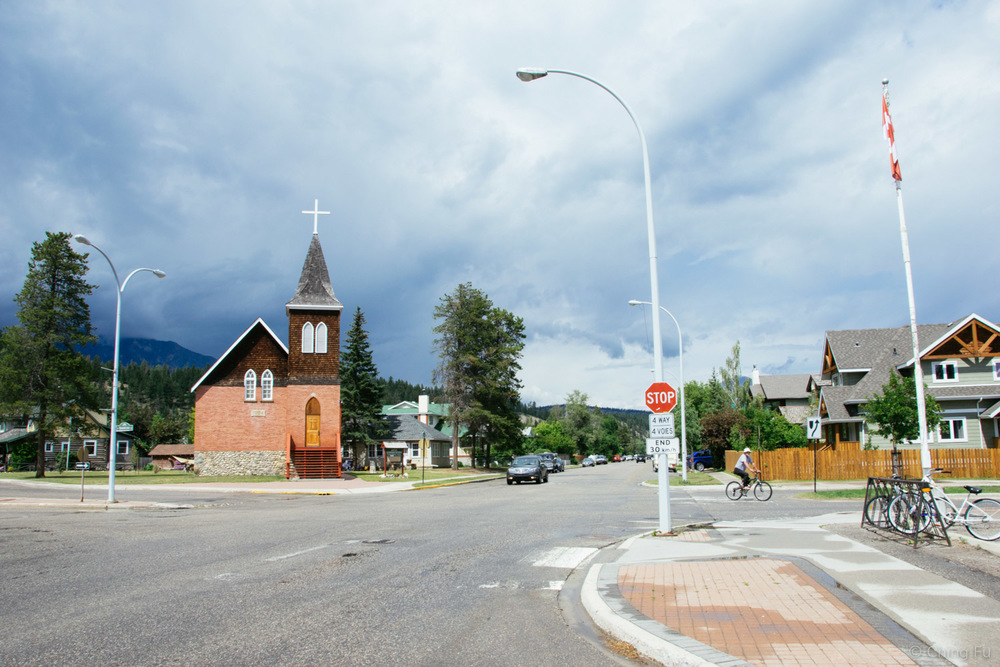 The neighborhood right behind downtown Jasper.