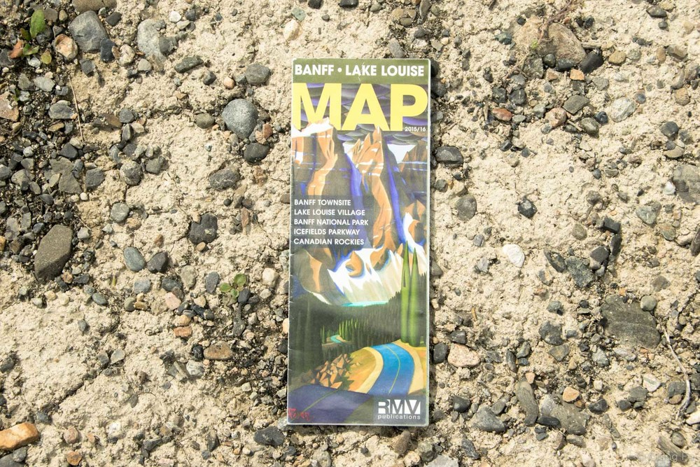 Free Banff map.