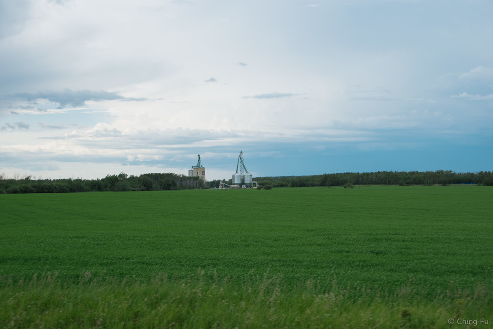 Fields outside the city of Grand Prairie.